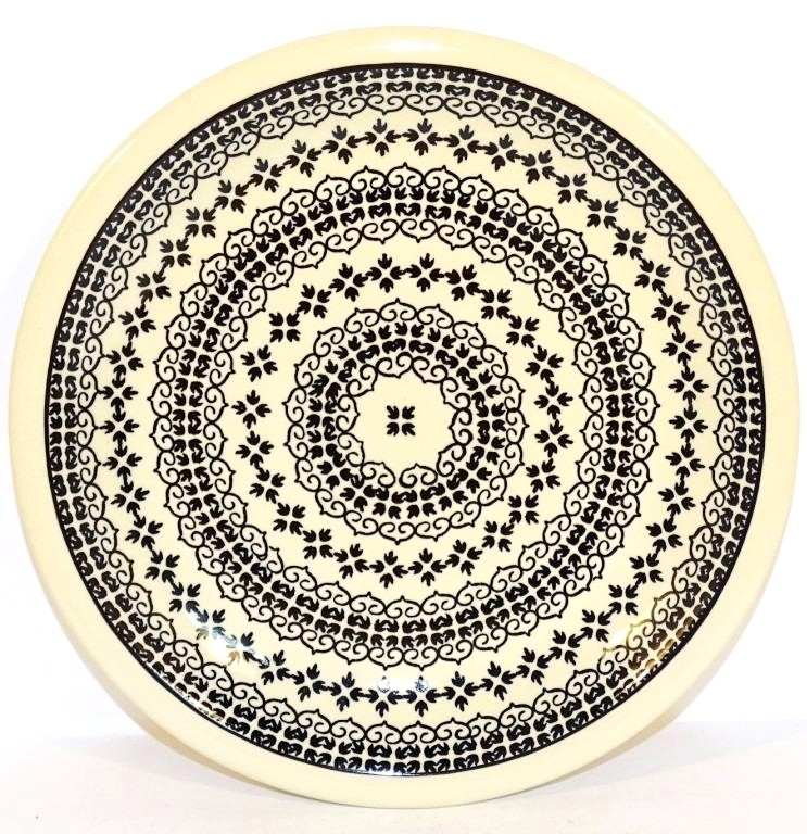 "Pottery Avenue 9.75"" BLACK DIAMOND Stoneware Plates | CLASSIC"
