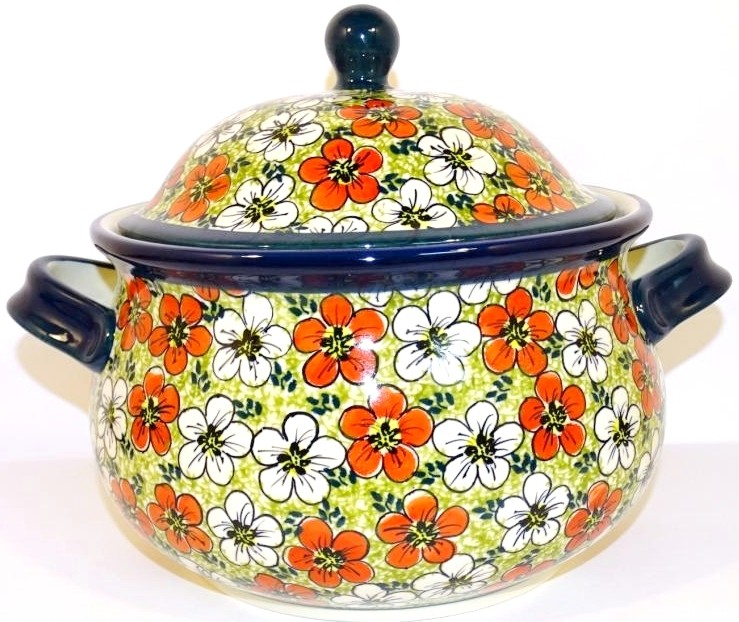 Pottery Avenue 12.5-Cup RED BACOPA Soup Tureen | UNIKAT
