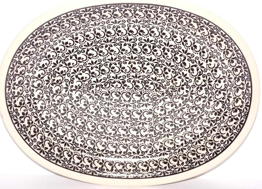 "Pottery Avenue 11.5"" Oval Plate | Apprentice"