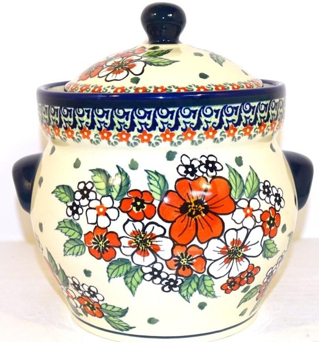 Pottery Avenue 7. 6-cup EMPRESS Kitchen Canisters | UNIKAT