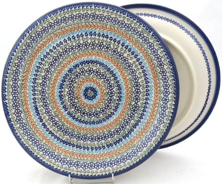"Pottery Avenue 10.25"" LUCKY Stoneware Dinner Plates | VENA-UNIKAT"
