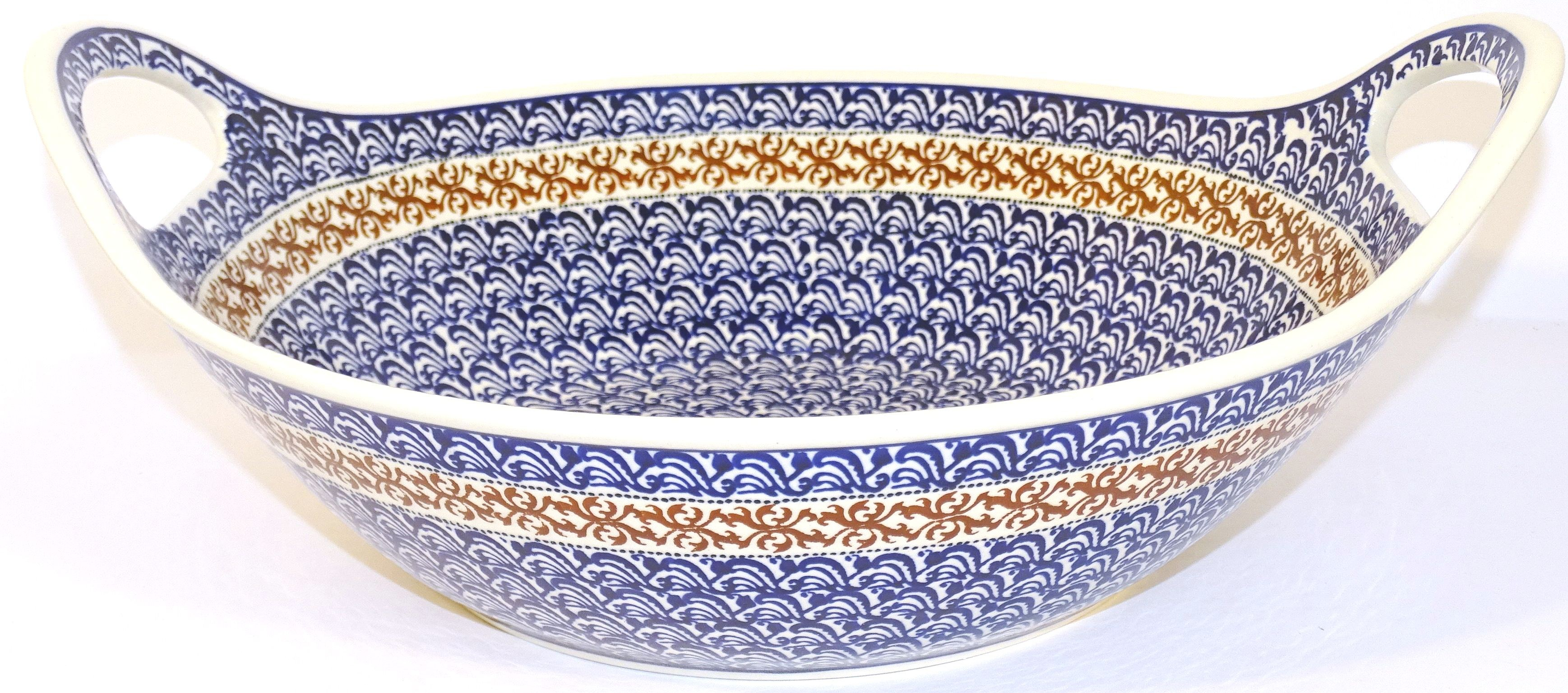 "Pottery Avenue 13"" Handled Bowl-Baker | CLASSIC"