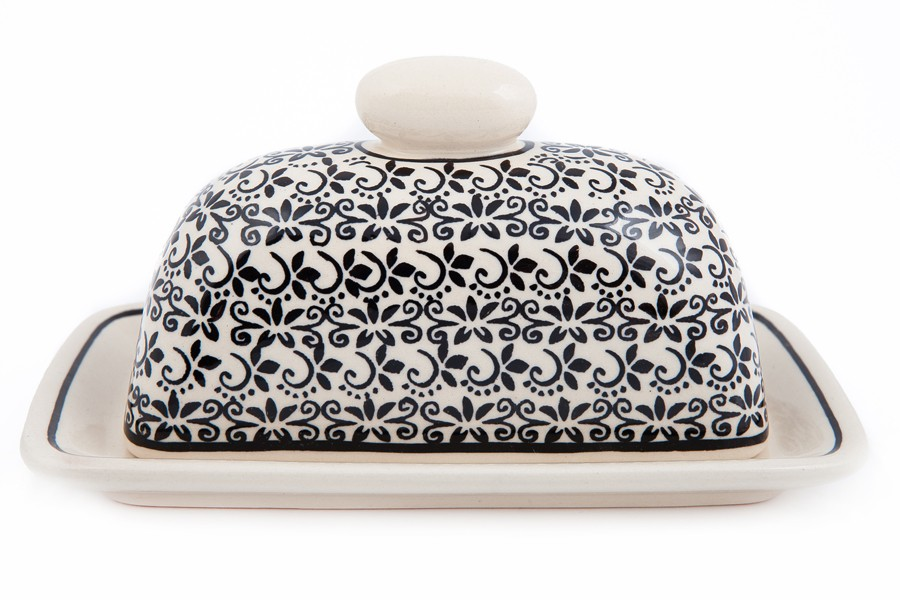 Single Cube Covered Butter Dish