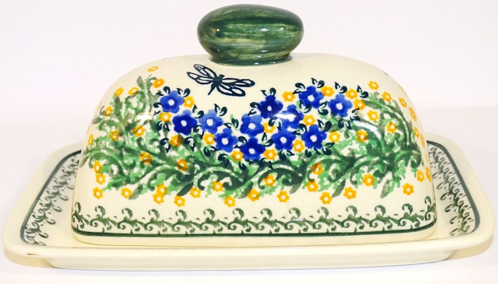 Pottery Avenue WISH Covered Butter Dish | ARTISAN