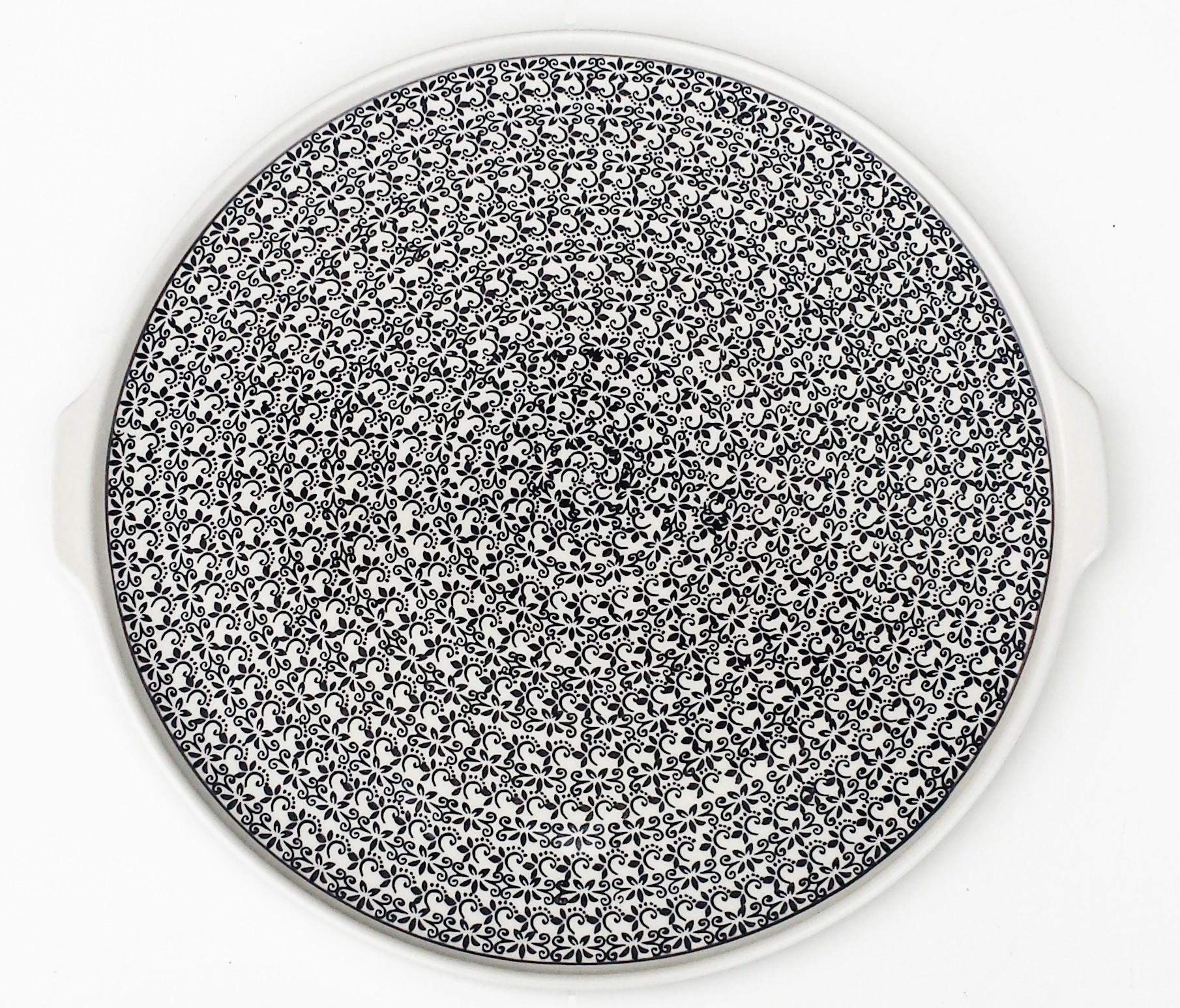 Pottery Avenue | Large Pizza Platter | CLASSIC