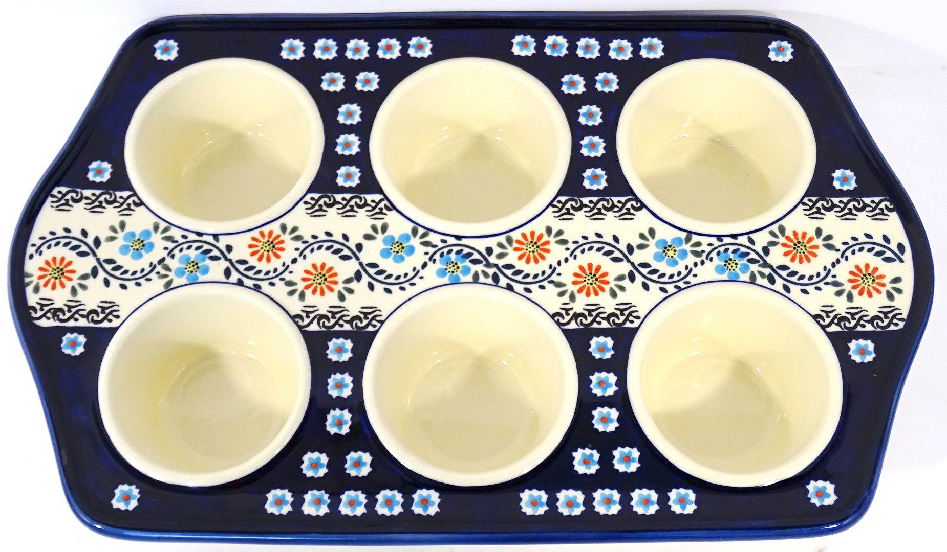 pottery Avenue Stoneware Muffin Pan