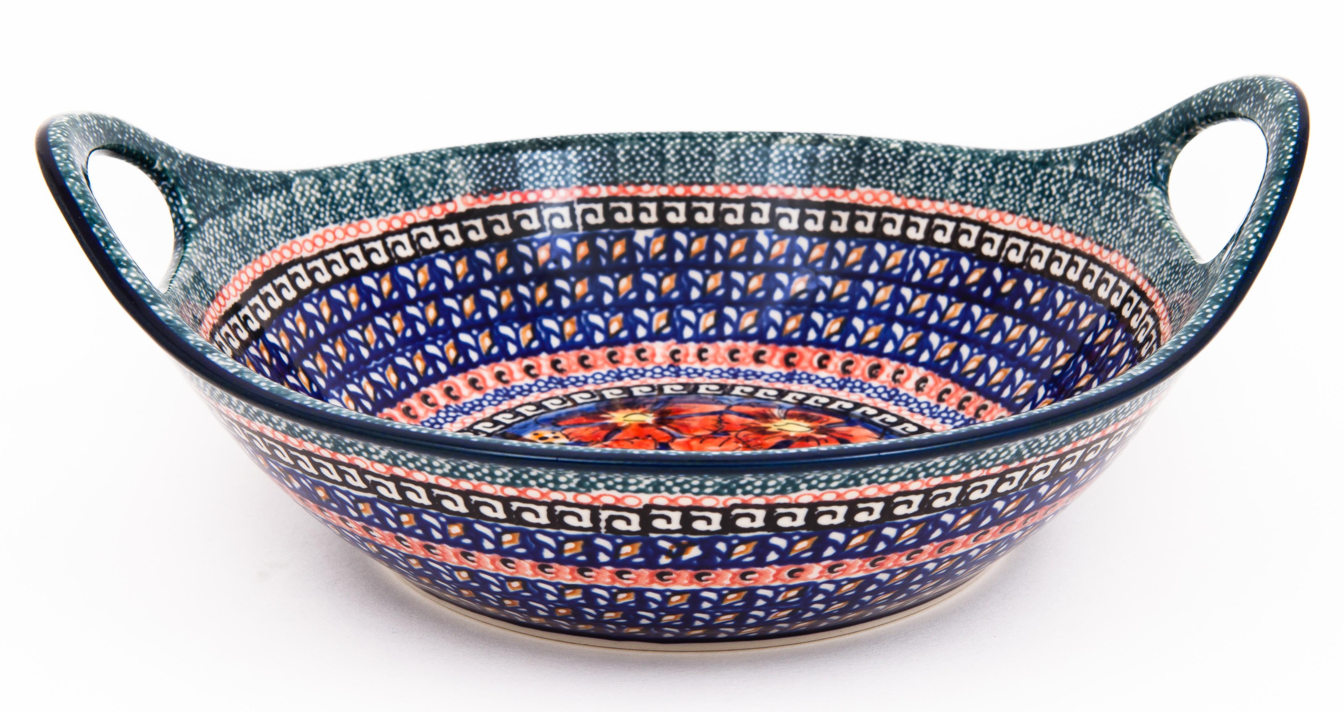 "Pottery Avenue |10"" Handled Bowl | UNIKAT"