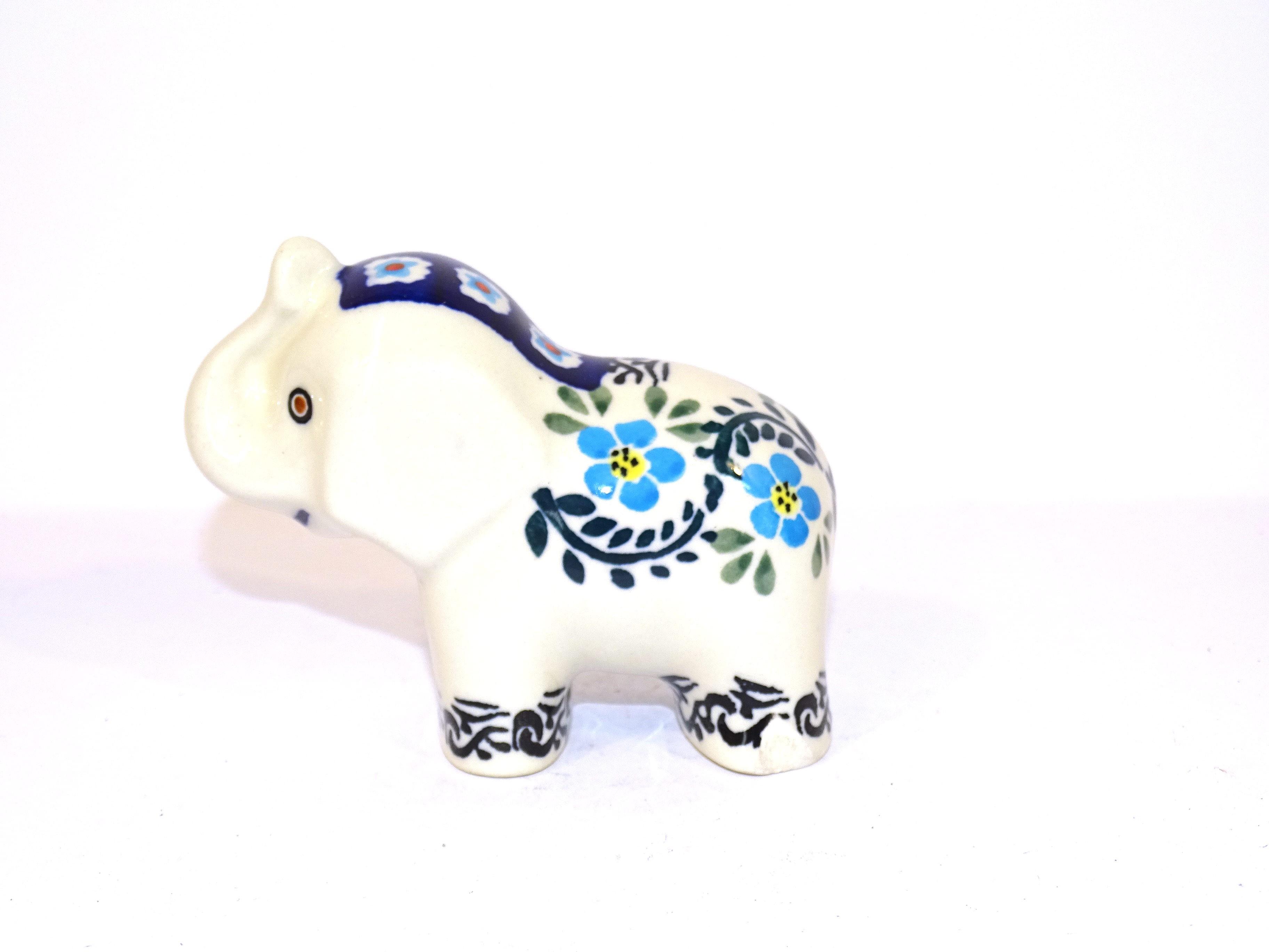 Pottery Avenue Elephant Figurine | CLASSIC