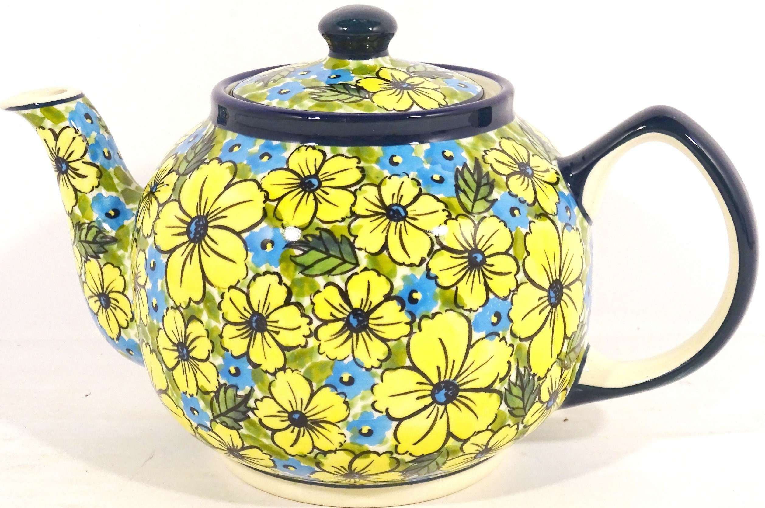 Pottery Avenue 34 oz CITRINE Stoneware Teapot | UNIKAT