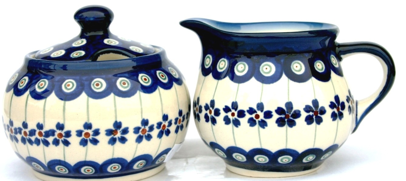 "3.25"" Creamer & Sugar Set"