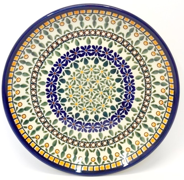 "Pottery Avenue 7.75"" ENCHANTING Stoneware Salad Plates | ARTISAN"