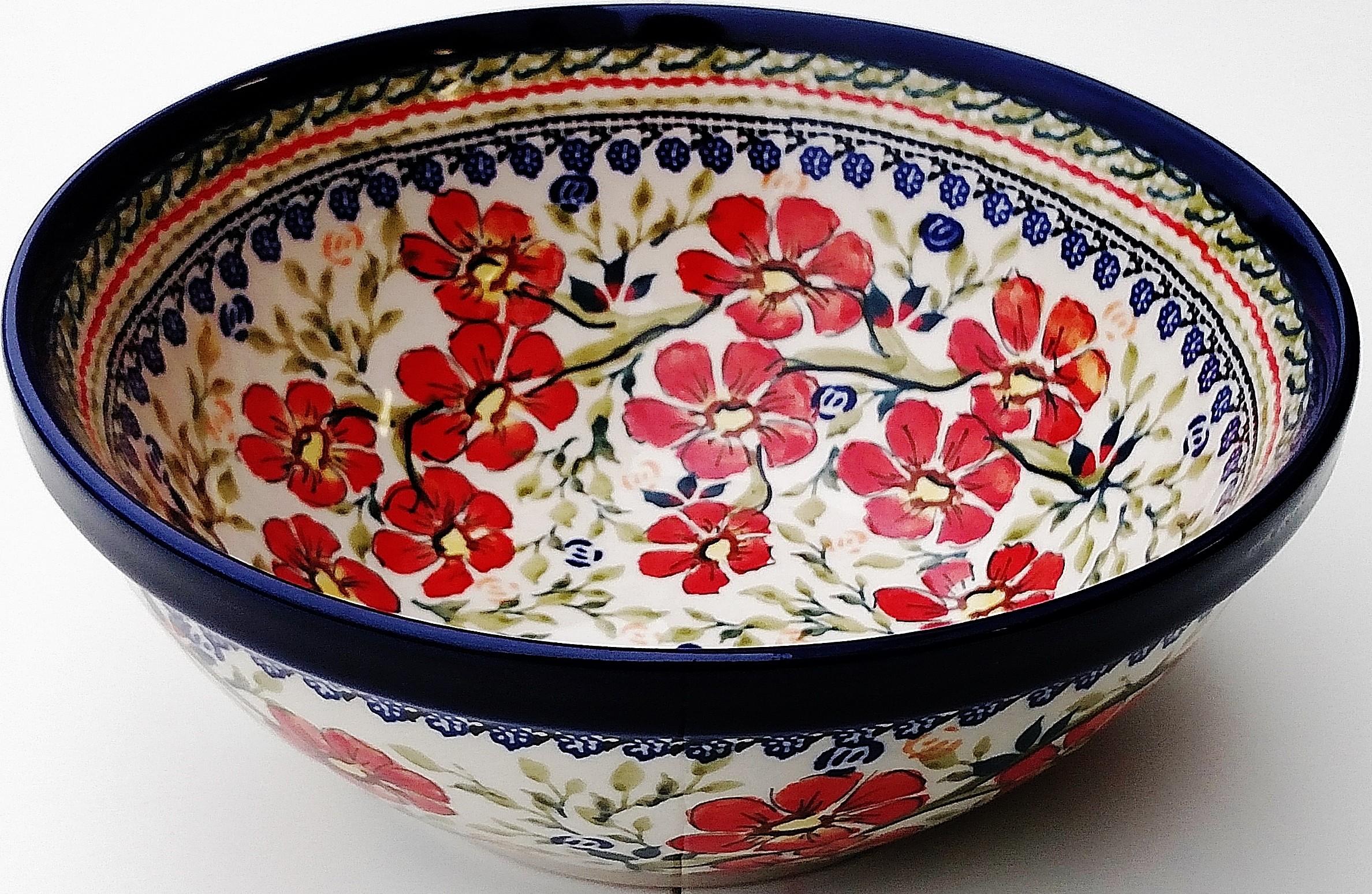 "Pottery Avenue  8"" Stoneware BowlL | EX UNIKAT"