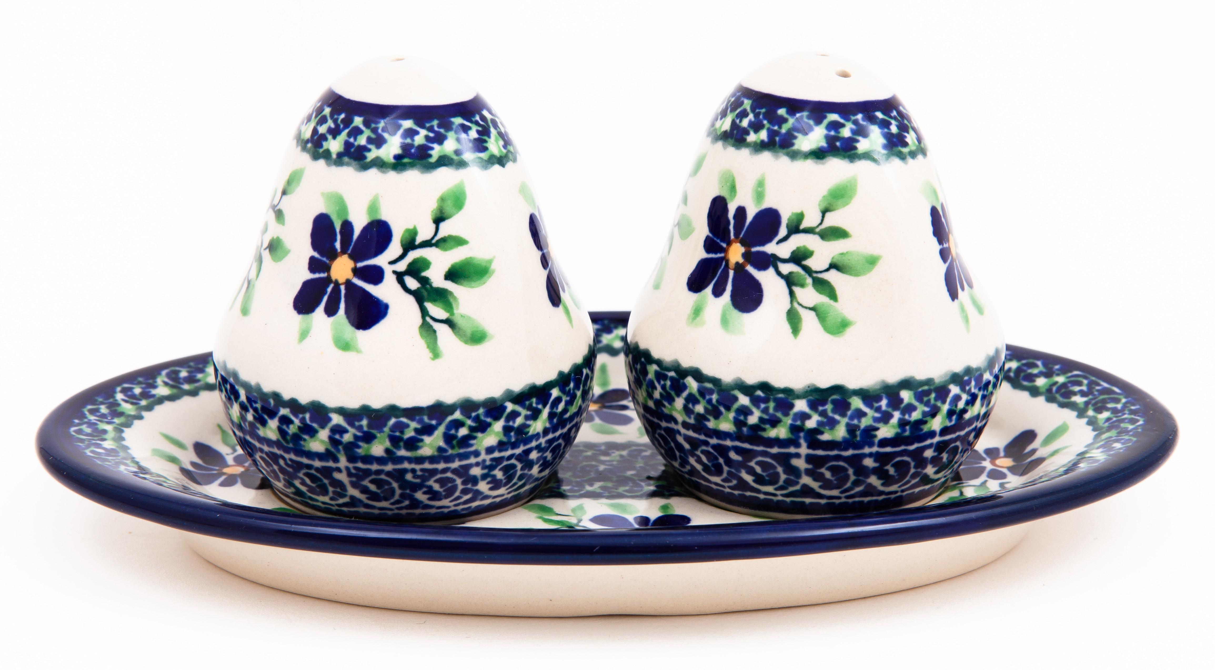 Pottery Avenue DEAREST FRIEND Salt And Pepper Plate Set | ARTISAN