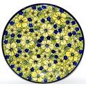 Blue Citrine Stoneware Dinner Plate | UNIKAT