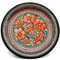 "Pottery Avenue 7.75"" CHERISHED FRIENDS Stoneware Salad Plate | UNIKAT"