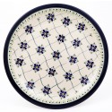 "Polish Pottery 11"" SWEETHEART Stoneware Dinner Plates 