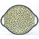 "Pottery Avenue 12.5"" BACOPA Round Serving Dish 