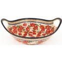 "Pottery Avenue 13"" Handled Bowl-Baker | EX UNIKAT"
