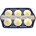 Pottery Avenue Stoneware Muffin Pan