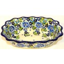 "Pottery Avenue  9.6"" Fancy Rimmed Bowl 