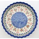 Pottery Avenue Scalloped Pie Dish | VENA-UNIKAT