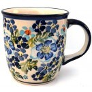 Pottery Avenue 12-oz TRUE BLUES Stoneware Coffee Mug | ARTISAN