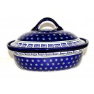 "Pottery Avenue 12.5"" Covered Casserole Dish 