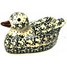 """Pottery Avenue 4"""" Stoneware Duck from """"BOLESLAWIECE"""""""