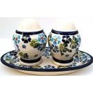 Pottery Avenue Salt and Pepper with Tray | ARTISAN