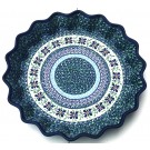 "Pottery Avenue 13"" DEAREST FRIEND Pie-Quiche Dish 