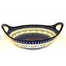 """Pottery Avenue 13"""" HERITAGE Baker Bowl With Handle   CLASSIC"""