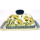 Pottery Avenue DRAGONFLY Covered Butter Dish | ARTISAN