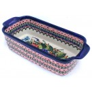 Pottery Avenue 5 Cup BUTTERFLY MERRYMAKING Stoneware Loaf Pan | UNIKAT