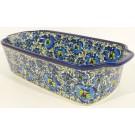 Pottery Avenue 5 Cup BLUE LAGOON Stoneware Loaf Pan | UNIKAT