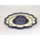 """Pottery Avenue 9"""" Egg Serving Plate 