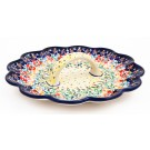 "9.5"" Dozen Egg Serving Plate"
