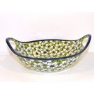 "Pottery Avenue 10"" BACOPA Stoneware Bowls With Handles 