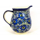 Pottery Avenue 3.6 Cup BLUE LAGOON Tall Pitchers 5.66"