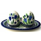 Pottery Avenue | Salt & Pepper & Plate | UNIKAT