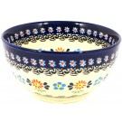 Polish Pottery 2 Cup Stoneware Cereal Bowl