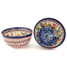 Pottery Avenue 2 Cup STRAWBERRY BUTTERFLY Cereal Bowl | UNIKAT