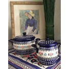 Pottery Avenue 2 pc HERITAGE Canister Set | CLASSIC