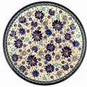 "Polish Pottery 11"" 4TH OF JULY Stoneware Dinner Plates 