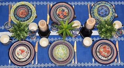 Designer Dinnerware