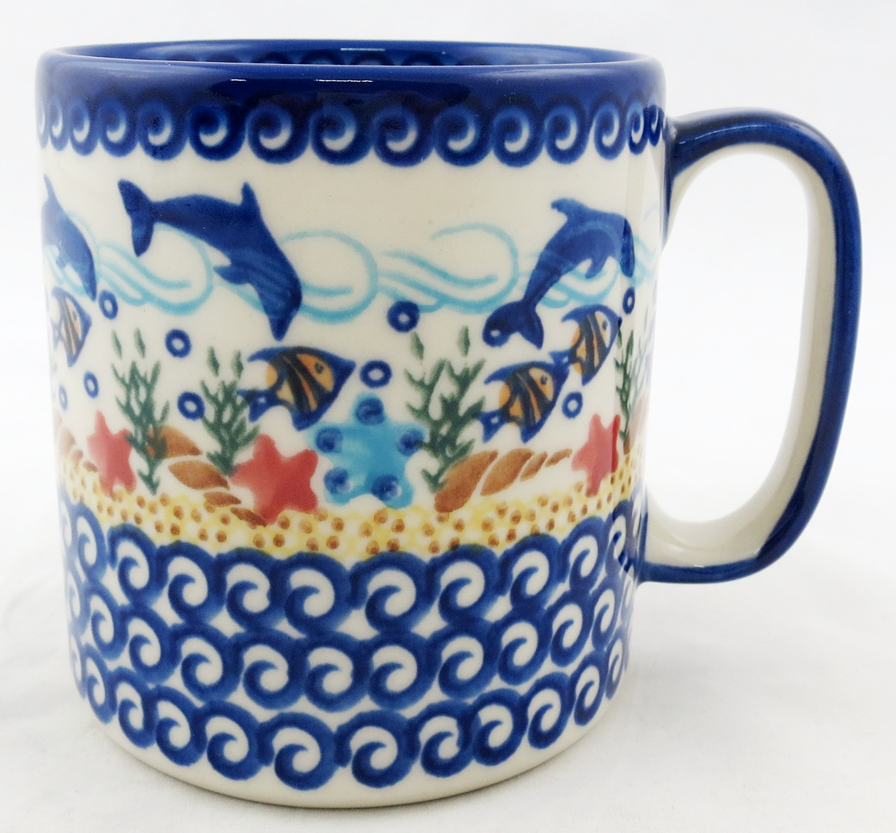 Pottery Avenue 12-oz Mug   VENA DOLPHIN
