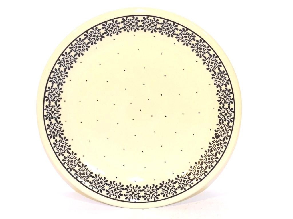 "Pottery Avenue Trendy Times 9.75"" Stoneware Plate"