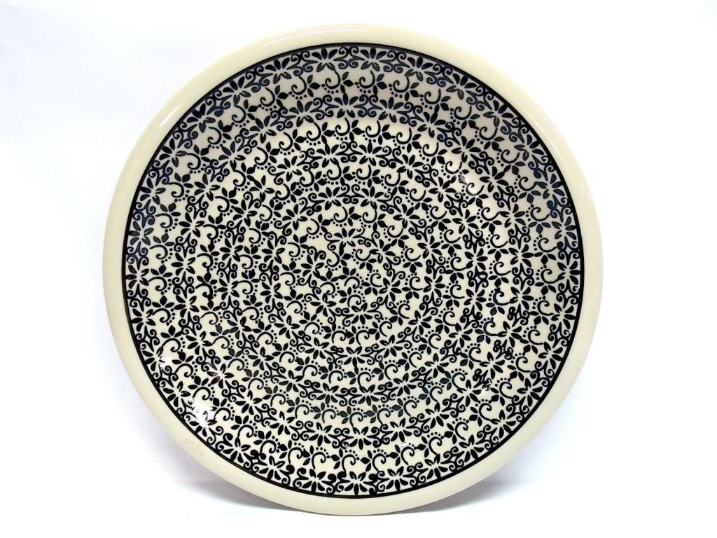 "Pottery Avenue Elegant Times 9.75"" Stoneware Plate"