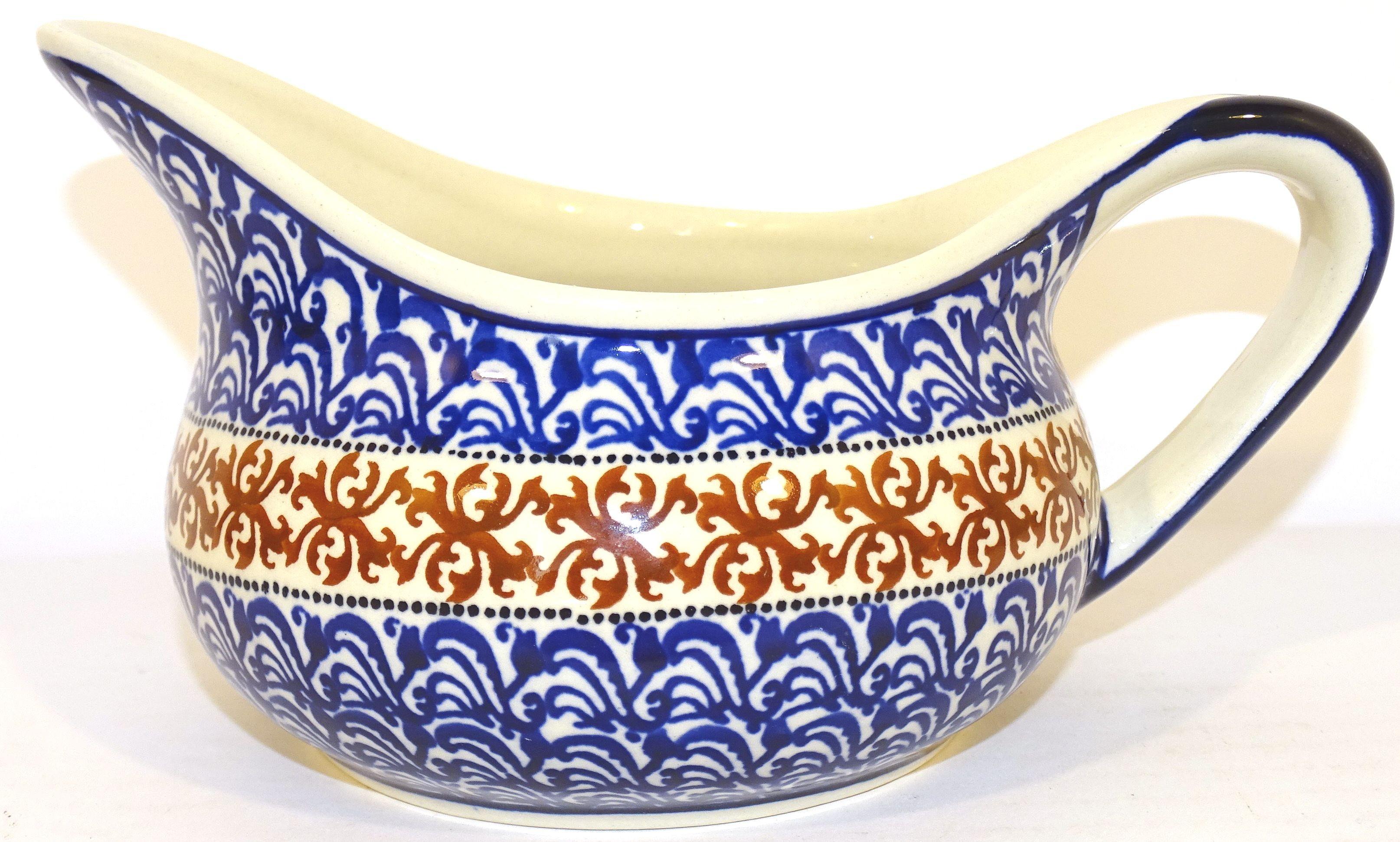 Pottery Avenue Cuba 2cp Stoneware Gravy Boat - 1003/1117 Cuba