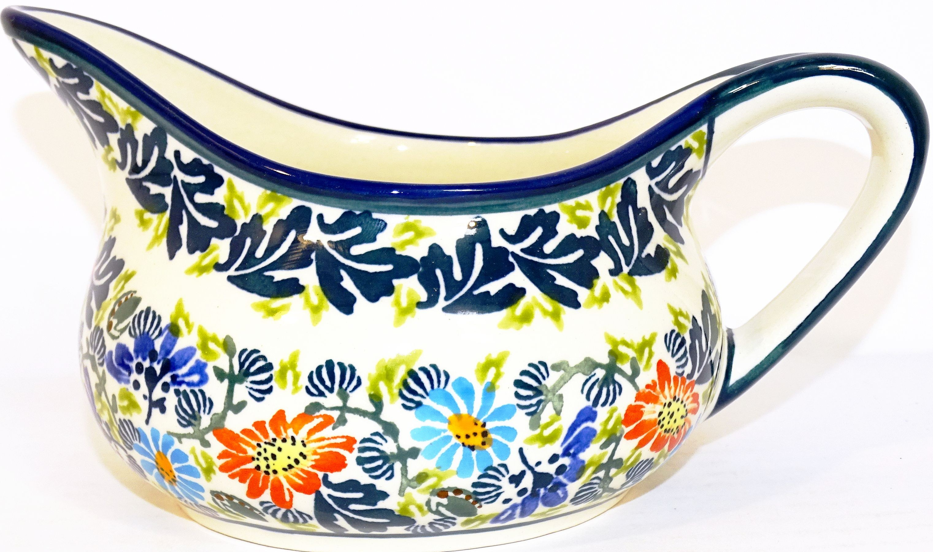 Polish Pottery 2 Cup BLISS Gravy Boat | UNIKAT
