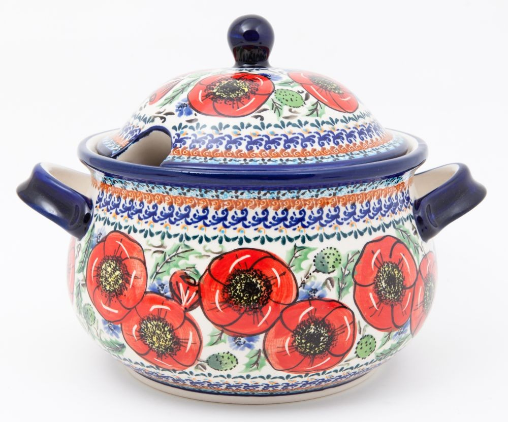 "12.5 Cp Soup Tureen 11x8.18"" Tall"